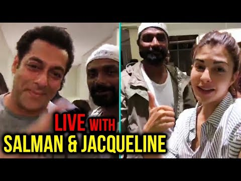 Salman Khan LIVE VIDEO With Anil Kapoor, Bobby Deo