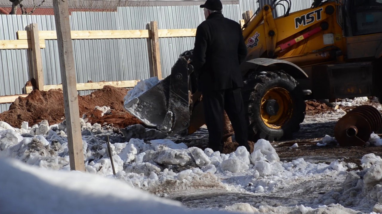Строительство началось в сквере на улице Ленина в Ижевске