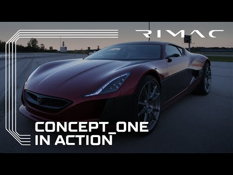 0 RIMAC Concept One   Electric Supercar | Teaser Video