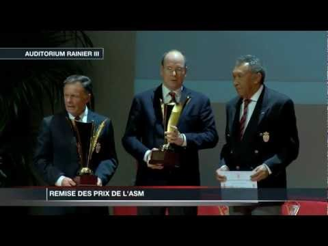 Remise des Prix de l'Association Sportive de Monaco  l'Auditorium Rainier III