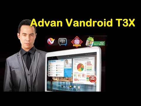 Advan Tablet Vandroid T3X Android QuadCore Kamera 8MP: Harga n Spek