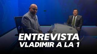 Entrevista en Vladimir a la 1 con Javier Bertucci - GLOBOVISION