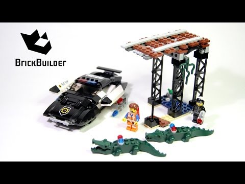 Lego Movie 70802 Bad Cop's Pursuit Complete build, unboxing and review