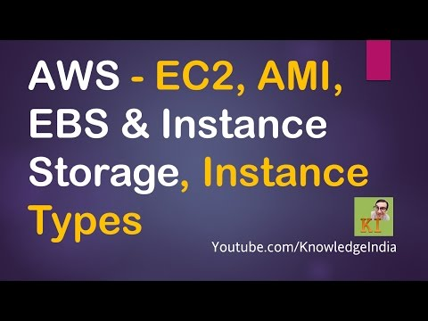 AWS - EC2, AMI, EBS & Instance Storage, Instance Types - Launching Windows EC2 DEMO