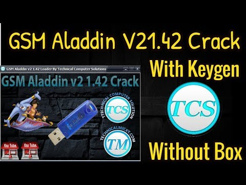 GSM Aladdin V21.42 With Keygen Without Box