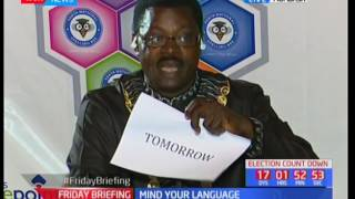 Mind your language [7/21/2017]SUBSCRIBE to our YouTube channel for more great videos: https://www.youtube.com/Follow us on Twitter: https://twitter.com/KTNNews  Like us on Facebook: https://www.facebook.com/KTNNewsKenya For more great content go to http://www.standardmedia.co.ke/ktnnews and download our apps:http://std.co.ke/apps/#android KTN News is a leading 24-hour TV channel in Eastern Africa with its headquarters located along Mombasa Road, at Standard Group Centre. This is the most authoritative news channel in Kenya and beyond.