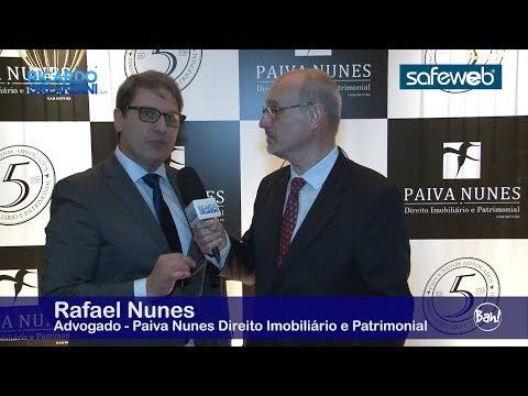 Direito Imobiliário entrevistando os advogados Rafael Nunes e Daniela Filter