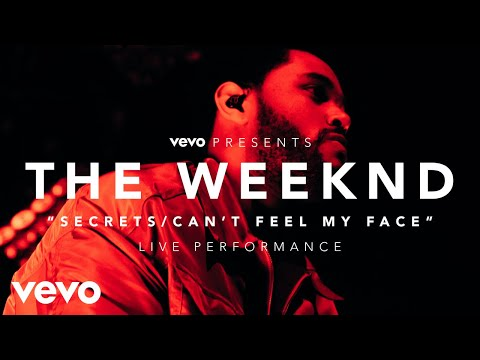 The Weeknd - Secrets/Can't Feel My Face (Vevo Presents) (видео)
