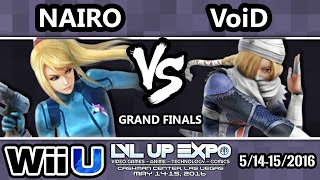 LVL Up Expo – Liquid' Nairo (ZSS) Vs. 2GG | VoiD (Sheik) SSB4 Grand Finals