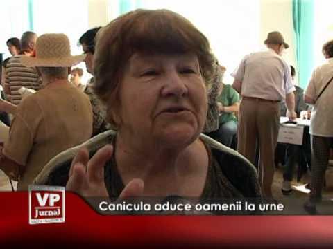 Canicula aduce oamenii la vot