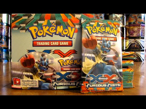 box - A Pokemon Furious Fists Box is opened in this video. This box includes 36 Pokemon Booster Packs, with 10 Pokemon cards and 1 TCG Online Code Card per pack. This is part 2. Pokemon Furious...