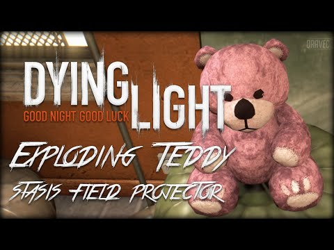 Dying Light: Exploding Teddy (Stasis Field Projector) - Easter Egg!