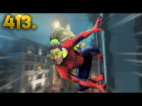 AMAZING Spider-Man Lucio!!  Overwatch Daily Moments Ep.413 Funny and Random Moments