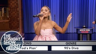 Video Musical Genre Challenge with Ariana Grande MP3, 3GP, MP4, WEBM, AVI, FLV Januari 2019