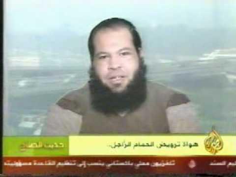 اشرف الهاشمى والحمام الزاجل على قناة الجزيرة2