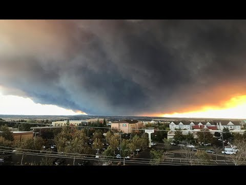 Fast-moving wildfire results in evacuations for Northern California towns