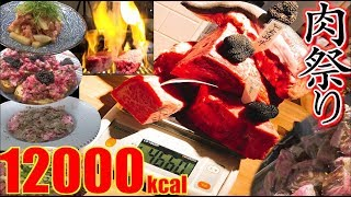 """Video 【MUKBANG】 Meat """"World Tour""""!! [40 Servings] 4.6Kg  [About 12000kcal] The INNOCENT CARVERY [Use CC] MP3, 3GP, MP4, WEBM, AVI, FLV Juni 2018"""