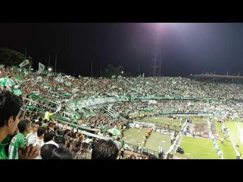 Con esta tu hinchada de siempre y con los jugadores... - Los del Sur vs Sao Paulo - Los del Sur - Atlético Nacional - Colombia - América del Sur