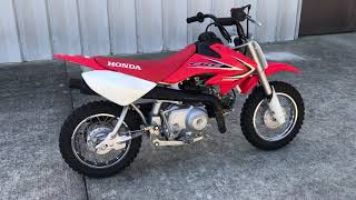 9. 2012 HONDA CRF 50