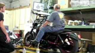 8. 2007 Kawasaki Mean Streak Special Edition Dyno run