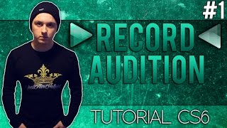 How To Record with Adobe Audition CS6 - Tutorial (NEW SERIES)