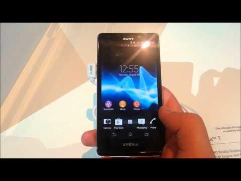 Sony Xperia T - hands on