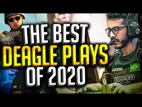 BEST PRO CS:GO DEAGLE PLAYS OF 2020! (ACES, CLUTCHES, VAC SHOTS & MORE!)