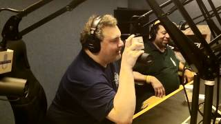 """Artie Lange Performs The Notorious B.I.G.'s """"Gimme The Loot"""" On The Combat Jack Show"""
