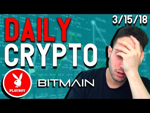 Daily Crypto News: Google FUD, Playboy Partners Vice Industry Token, Bitmain to America