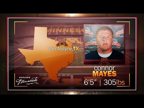 HIGHLIGHTS: OL Connor Mayes