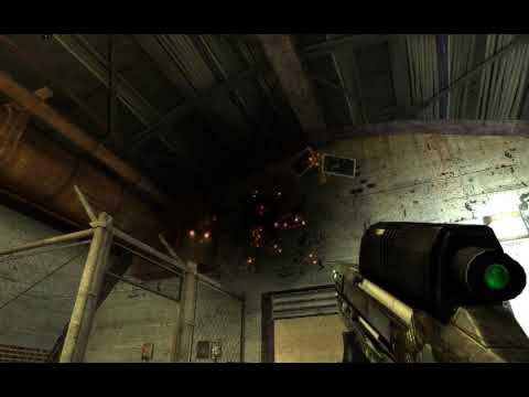 Half-Life 2 Damaged Alpha OICW Skin