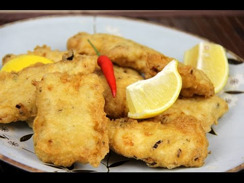 Homemade Fish Nuggets (fried fish) Recipe!
