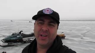 Lake Simcoe   ICEFISHING Ice Report JAN.,21~22, 2017