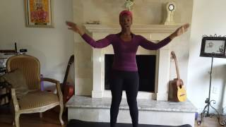 The Daily Stretch with Kenya Moses - Ep.1