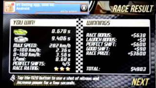 Drag Racing Elite Tunes YouTube video