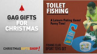 Top Gag Gifts For Christmas Ideas: Potty Fisher Toilet Fishing Game