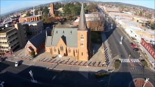 Bathurst Australia  city pictures gallery : Bathurst NSW morning flight by Sky Eye UAV Solutions