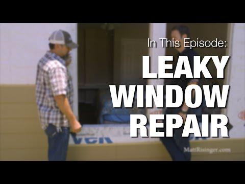 Leaky Windows - How to fix