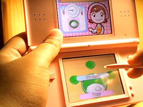 Main Cooking Mama On Nintendo Ds Lite