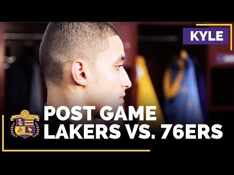 Video: Kyle Kuzma After Career-High Night, Lonzo Ball's Confidence