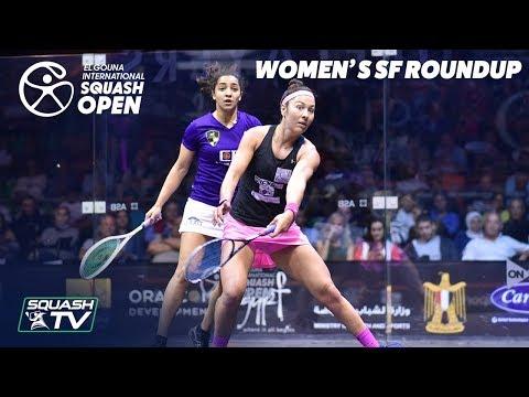 Squash: El Gouna International 2019 - Women's SF Round Up
