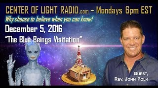 """Blue Beings Visitation At UFO Conference"""