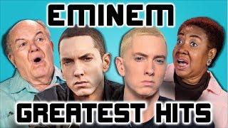 Video ELDERS READ EMINEM'S HIT SONGS (React) MP3, 3GP, MP4, WEBM, AVI, FLV Desember 2018