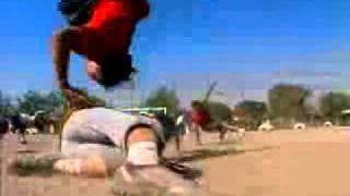 Fútbol bailando Break Dance