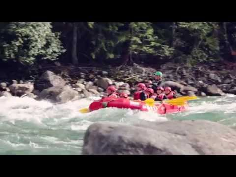 White Water Rafting Fun in BC