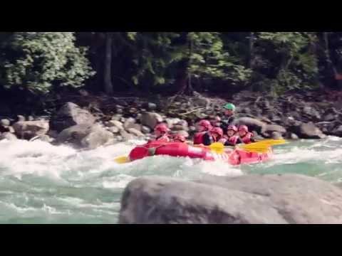 White Water Rafting Fun in BC