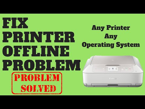 Fix Printer Offline Problem