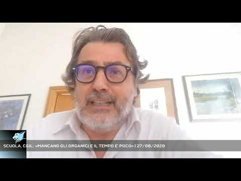SCUOLA, CGIL: «MANCANO GLI ORGANICI E IL TEMPO E' POCO» | 27/06/2020