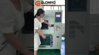 Programmable Environmental Testing Machine Constant Temperature Humidity Chamber youtube video