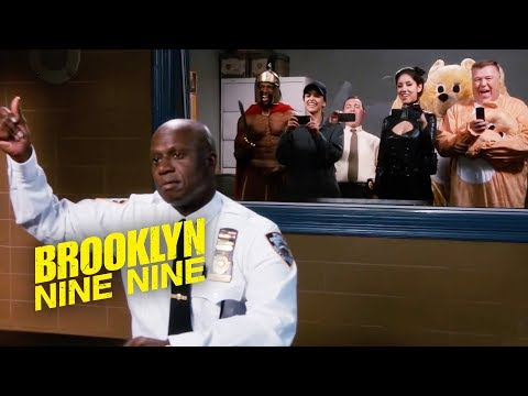 Captain Holt's Halloween Heist | Brooklyn Nine-Nine